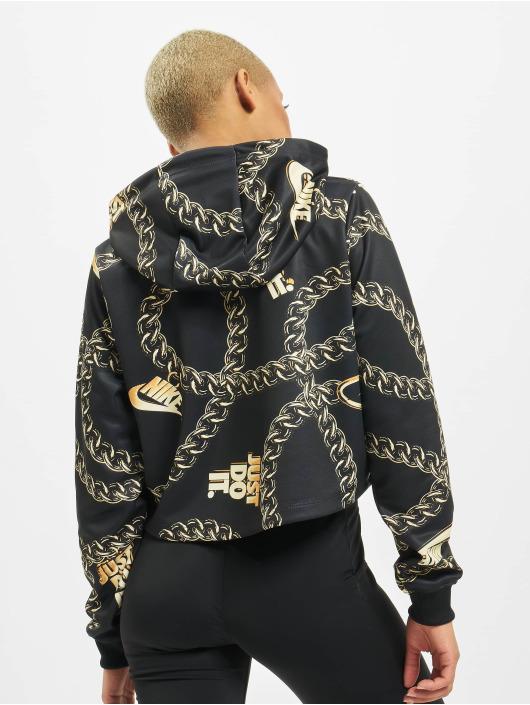Nike Bluzy z kapturem Glam Dunk czarny