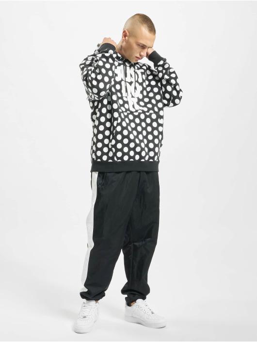 Nike Bluzy z kapturem JDI AOP Q5 czarny