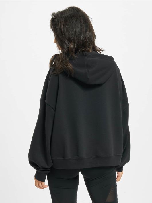Nike Bluzy z kapturem Icon Fleece czarny