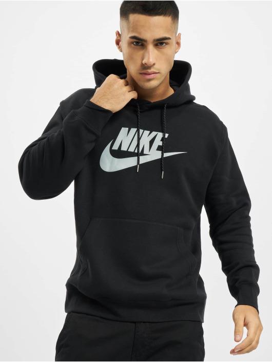 Nike Bluzy z kapturem Nsw czarny