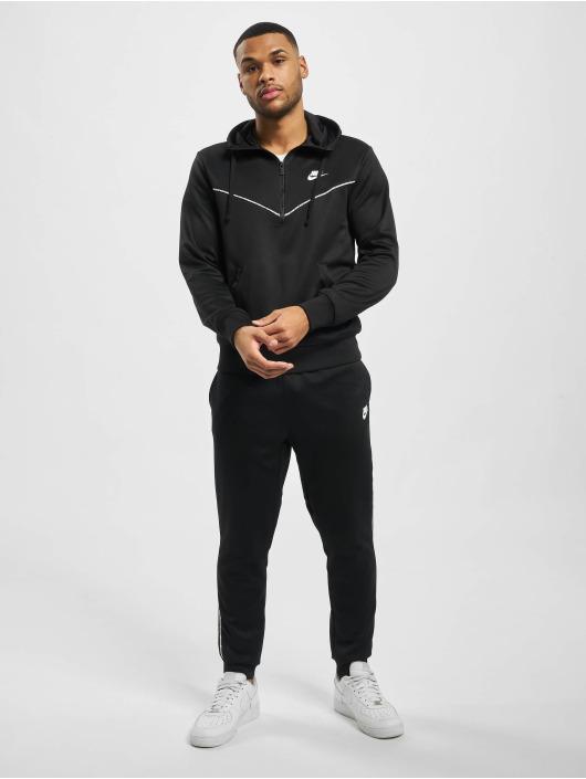 Nike Bluzy z kapturem M Nsw Repeat Pk Hz czarny