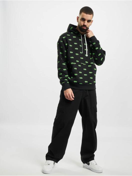 Nike Bluzy z kapturem Sportswear Club BB Scrpt czarny