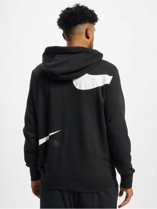 Nike Bluzy z kapturem Swoosh Po Sbb czarny