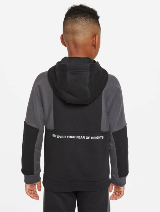 Nike Bluzy z kapturem Air Po czarny