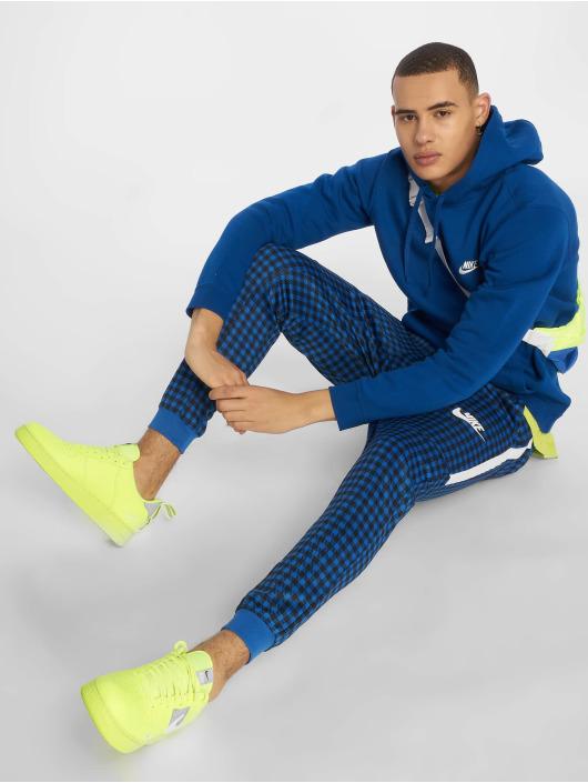 Nike Bluzy z kapturem Sportswear indygo
