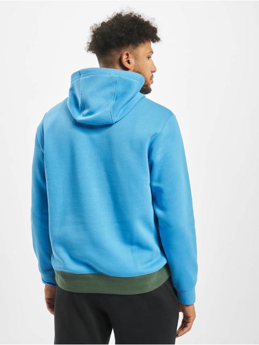 Nike Bluzy z kapturem Club HZ BB niebieski