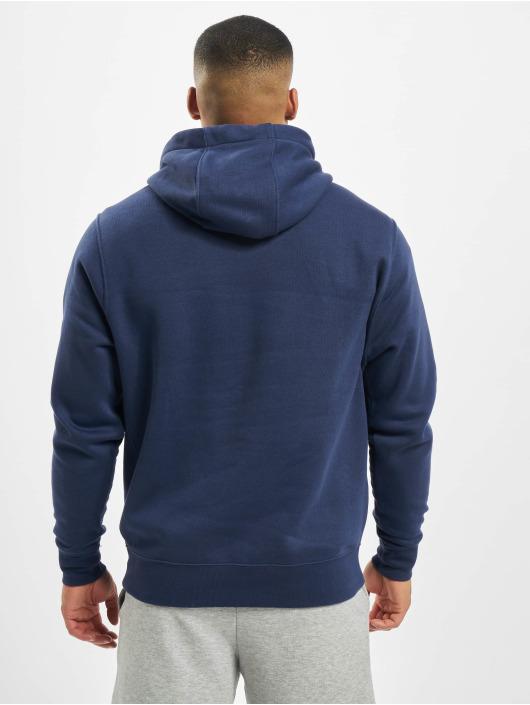 Nike Bluzy z kapturem Club niebieski
