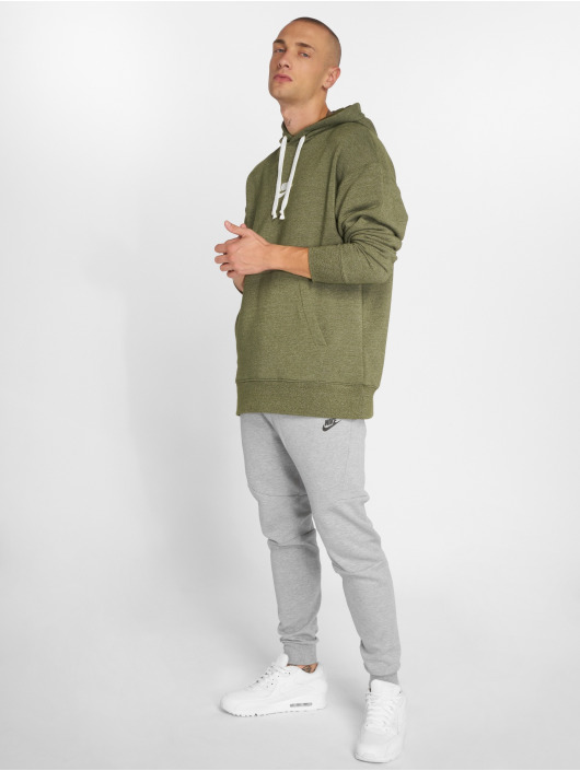 Nike Bluzy z kapturem Sportswear Heritage oliwkowy