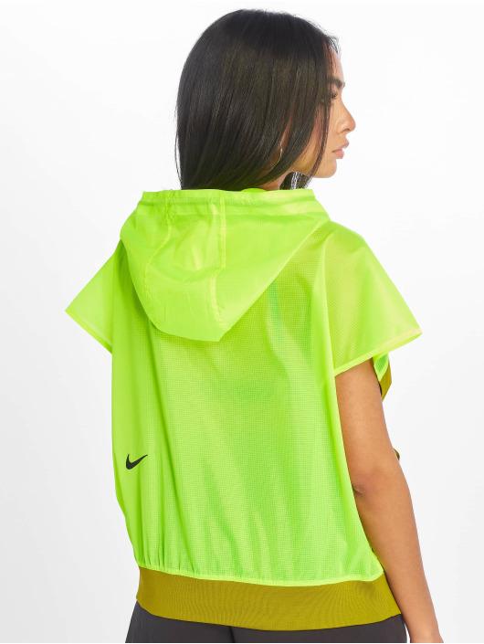 Nike Bluzy z kapturem TCH PCK oliwkowy