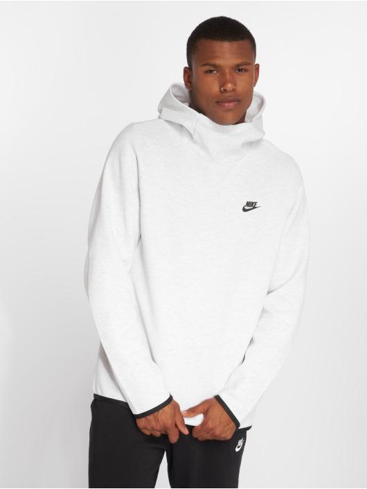 Nike Bluzy z kapturem Sportswear Tech Fleece szary