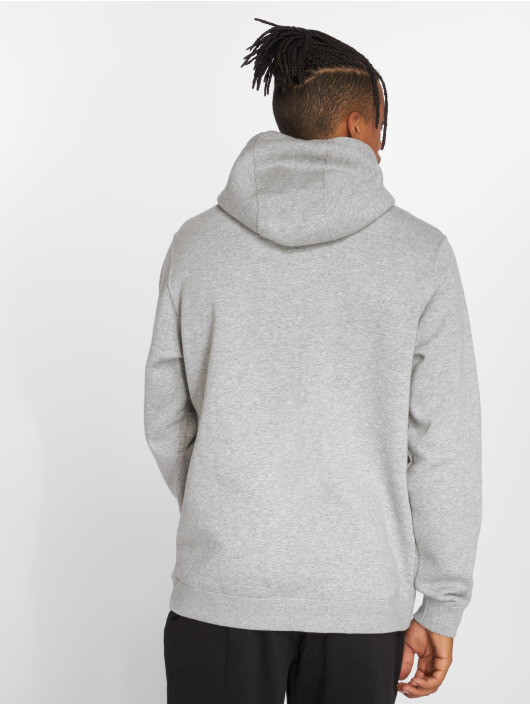 Nike Bluzy z kapturem Sportswear szary