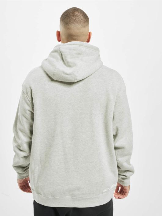 Nike Bluzy z kapturem PO szary