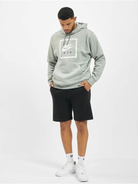 Nike Bluzy z kapturem Air 5 szary