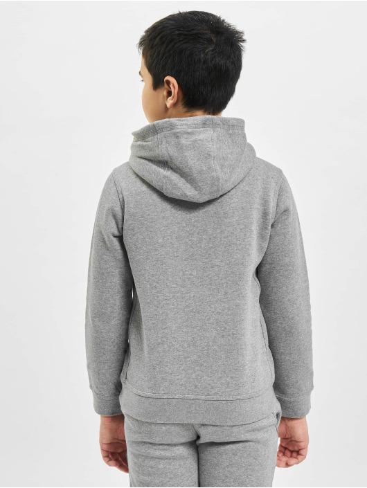 Nike Bluzy z kapturem Club PO szary