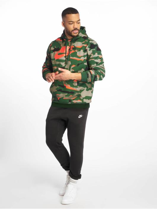 Nike Bluzy z kapturem Sportswear zielony