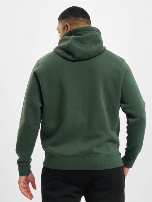 Nike Bluzy z kapturem Club zielony