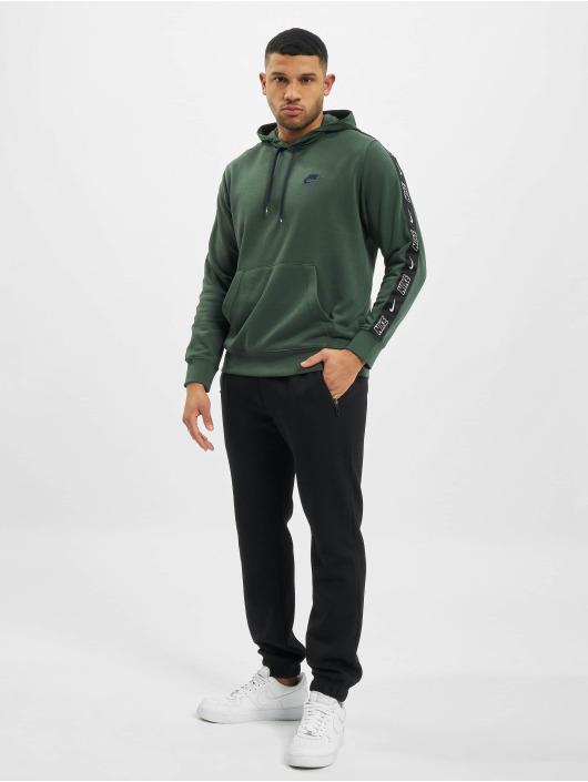 Nike Bluzy z kapturem M Nsw Ce Po Ft Snl zielony