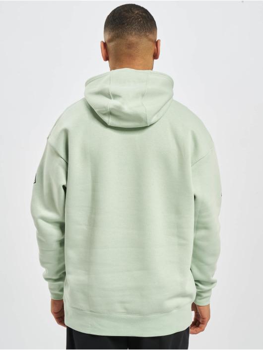 Nike Bluzy z kapturem SC Fleece zielony