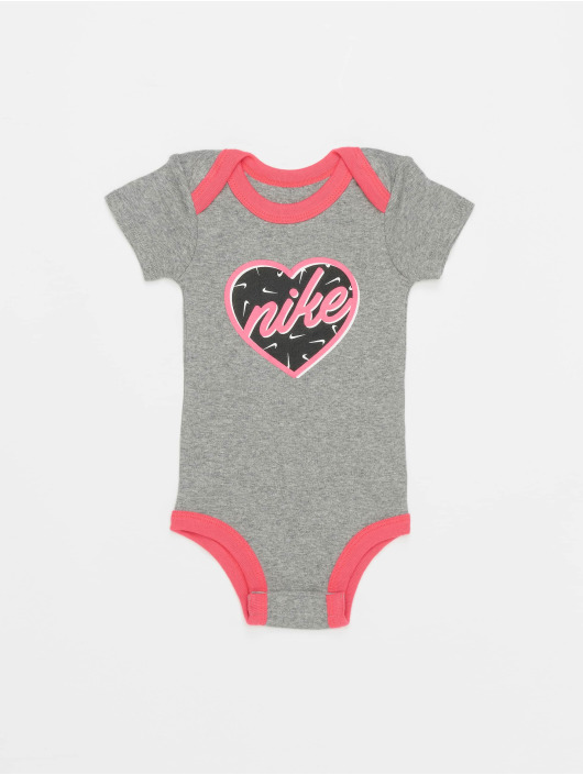 Nike Body Nhg Girls Heart šedá