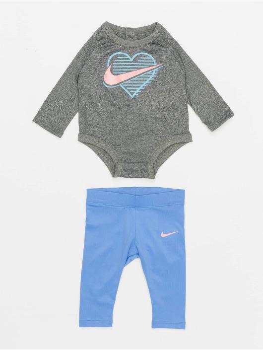 Nike Body Ls Nike Block Bodysuit Legging Set blu