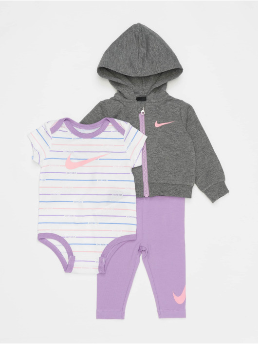 Nike Body Nkg Jdi Stripe 3 Pc fialová