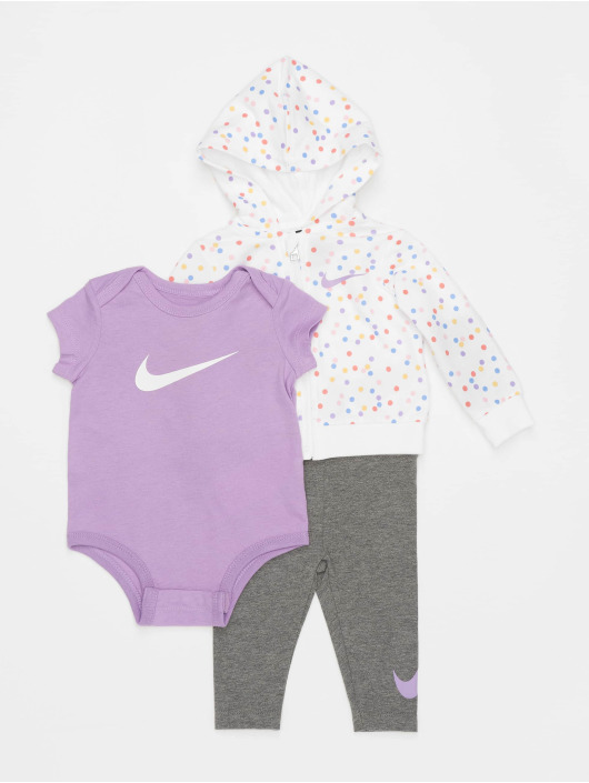 Nike Body Nkg Nike Girls 3 Pc grigio