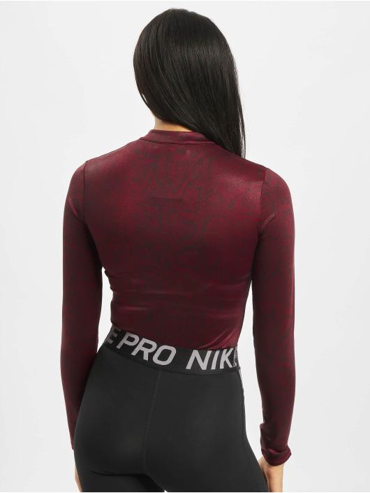 Nike Body LS Pythn rood