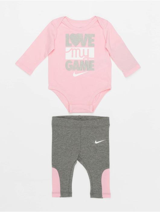 Nike Body Ls Love My Game szary