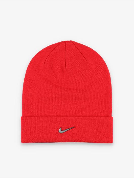 Nike Swoosh Beanie University Red/Metallic Silvern