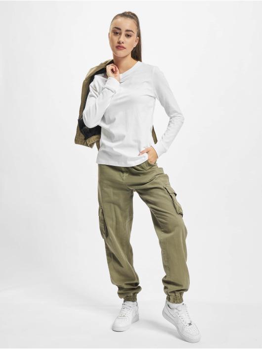 Nike Camiseta de manga larga NSW LBR blanco