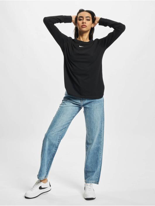 Nike Camiseta de manga larga NSW LBR negro