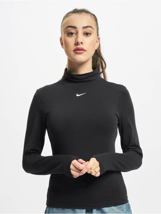 Nike Camiseta de manga larga NSW negro