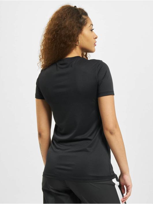 Nike Camiseta W Nk Df Leg Crew negro