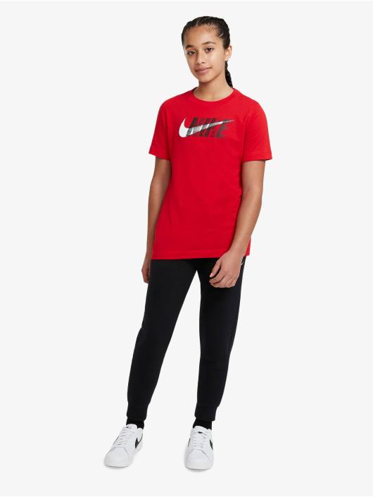Nike Camiseta Swoosh rojo