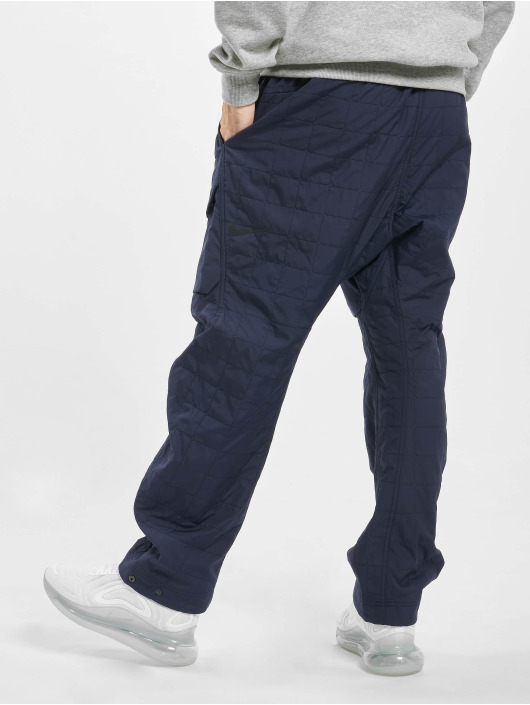 Nike Cargohose Tech Pack Woven Quilted blau