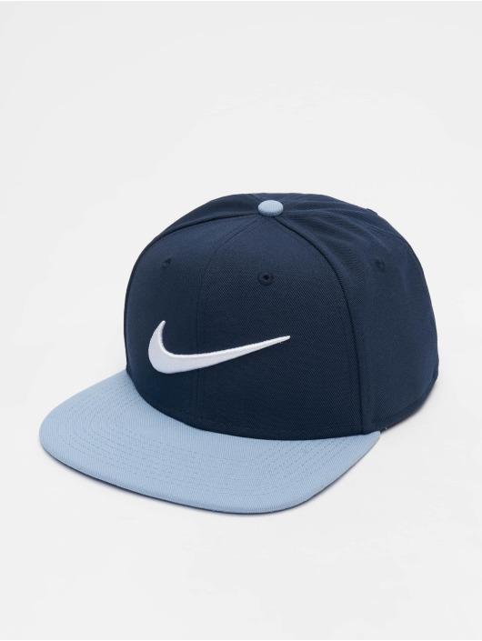 Nike Casquette Snapback & Strapback Pro Swoosh Classic bleu