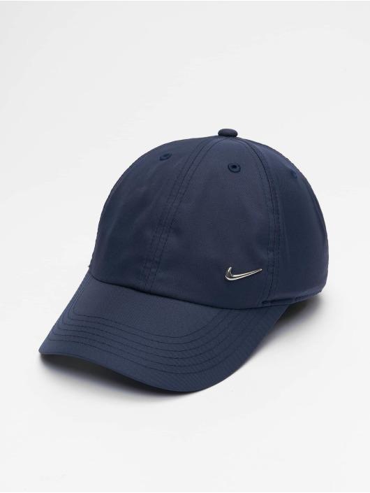 Nike Casquette Snapback & Strapback Metal Swoosh Fitted bleu
