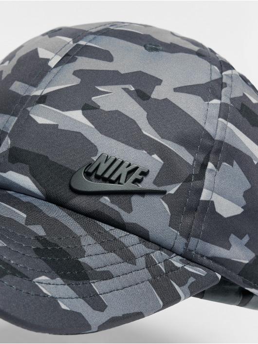 Nike Casquette Snapback & Strapback NSW H86 Metal gris