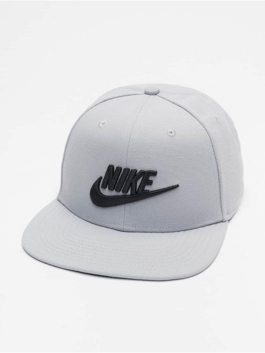 Nike Casquette Snapback & Strapback U Nsw Df Pro Futura gris