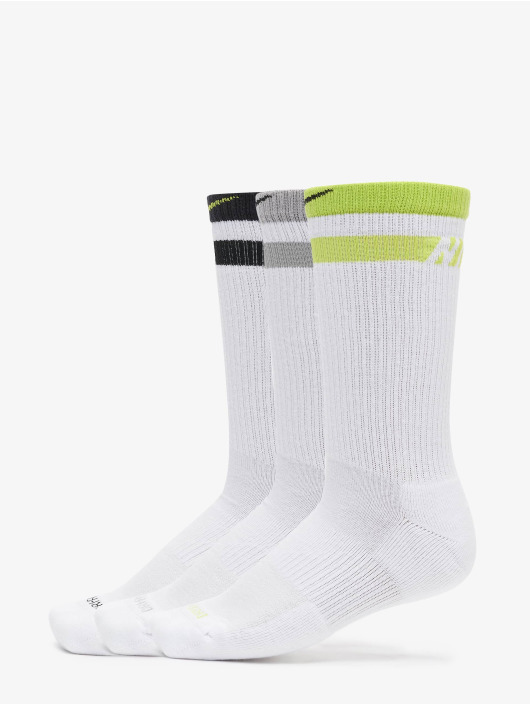 Nike Chaussettes Everyday Plus Cush Crew 3-Pack blanc