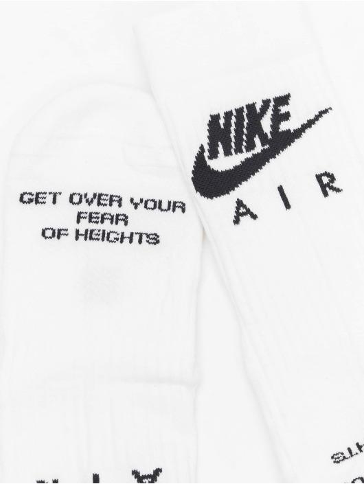 Nike Chaussettes Crew Air blanc