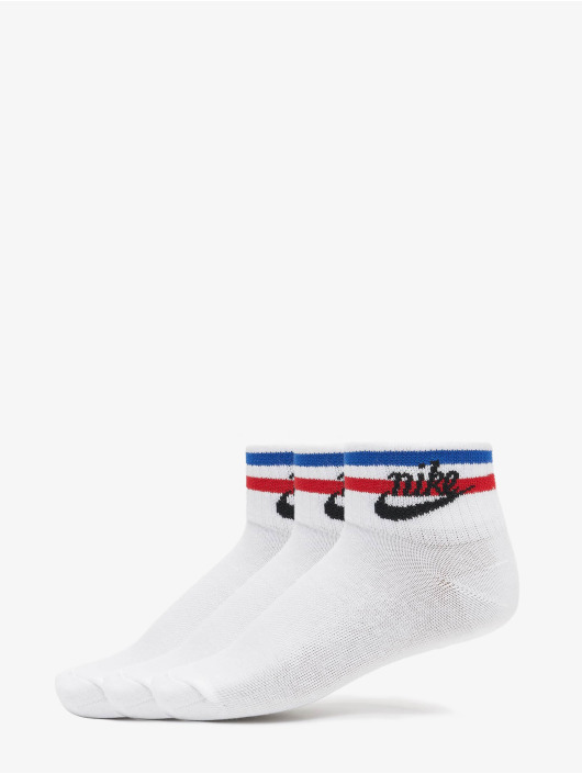 Nike Chaussettes Everyday Essential Ankle 3-Pack blanc