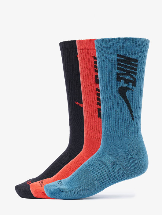 Nike Chaussettes Everyday Plus Cush Crew 3 multicolore