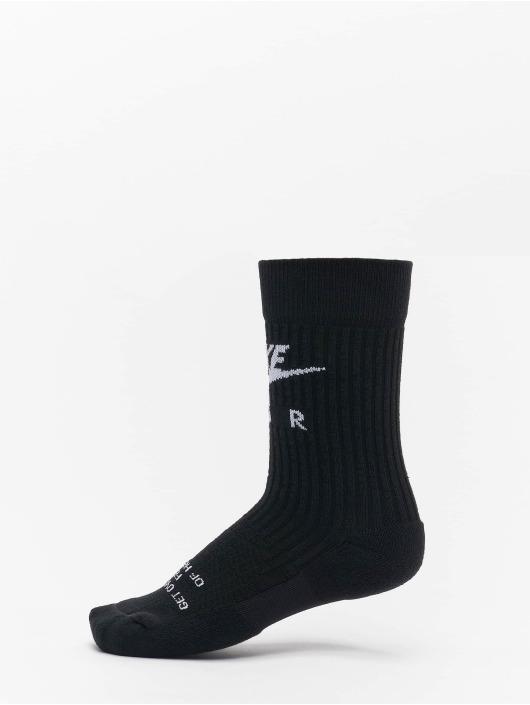 Nike Chaussettes Crew Air noir