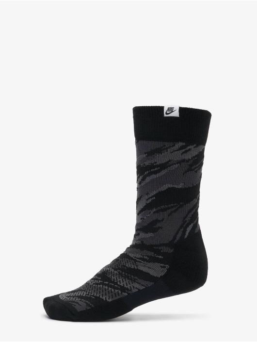 Nike Chaussettes Crew Camo noir