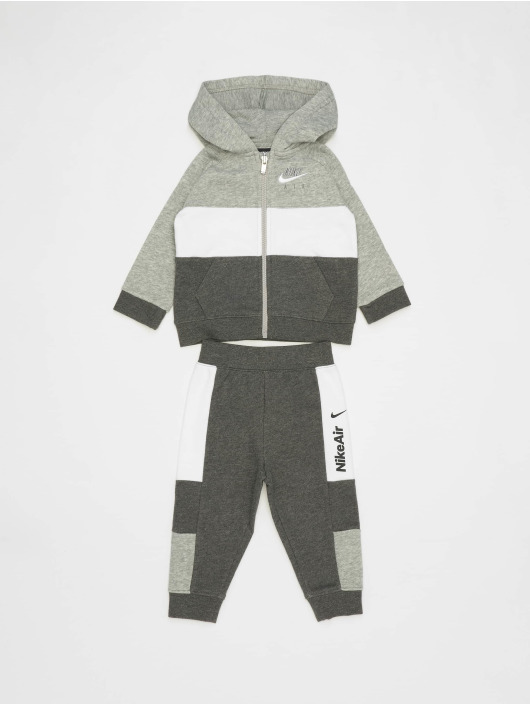 Nike Air Full Zip & Jogger Set Charcoal Heather