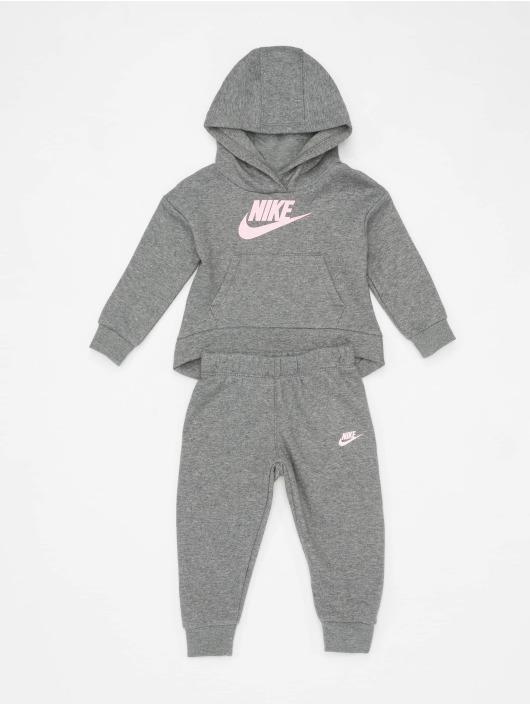 Nike Collegepuvut Club Fleece harmaa