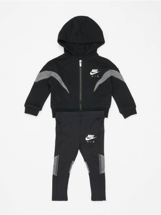 Nike Collegepuvut FZ Jacket Air 2PC musta