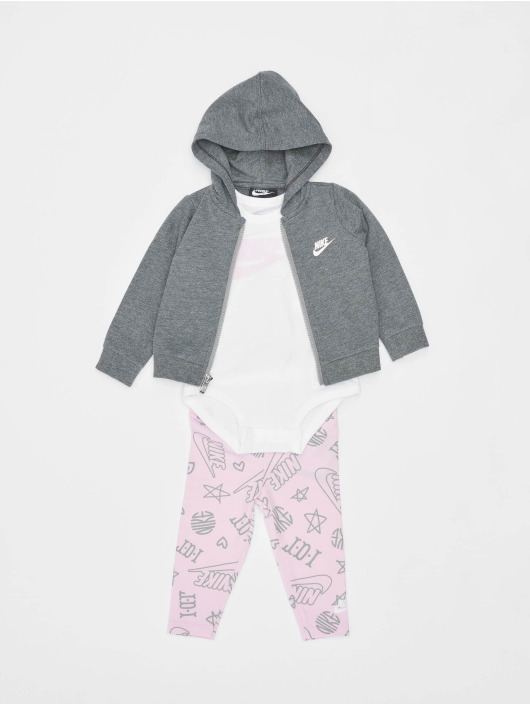 Nike Collegepuvut 3PC Bodysuit Pant roosa