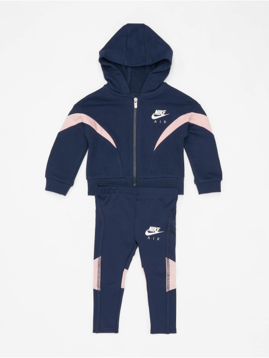 Nike Collegepuvut FZ Jacket Air 2PC sininen